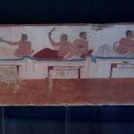 Particolare di affresco murale