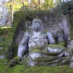 Statua raffigurante con molta probabilità la divinità Nettuno