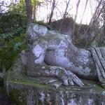 """Statua probabilmente ispirata al personaggio di Armida, della """"Gerusalemme Liberata"""" di Torquato Tasso"""