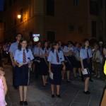 Anagni - processione - banda Comunale