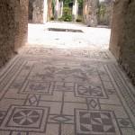 Particolare di un bellissimo mosaico caratteristico