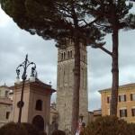 La bellissima torre campanaria