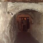 L'entrata del monastero, abitato dai frati
