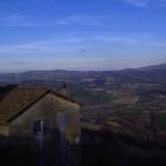Una bella veduta della Val Tiberina