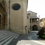 Ancora Piazza Vittori, la scalinata è quella della Chiesa di S. Domenico