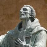 Particolare della Statua di S. Francesco